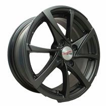 Rin 14 Deportivo Aluminio 4/100 Negro Mate Xavion