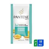 Shampoo Pantene Clásico 24 Sobres 10 Ml C/u