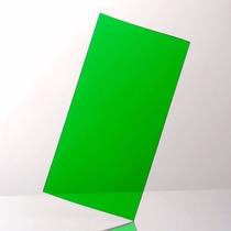 Acrilico Verde Lamina