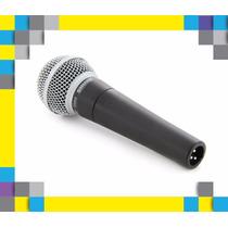 Micrófono Shure Sm58 C/switch Nuevo Sm-58sk Sm-58 Calidad