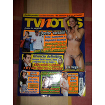 Revista Tv Notas Portada Alejandra Guzman Poster Liz Vega