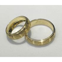 4dee4d390a1 Par Argollas Matrimoniales Oro Macizo De 10k (envio Gratis) en venta ...