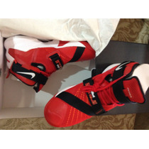 Nba Nike Tenis Lebron James Soldier Ix Rojos Varias Tallas