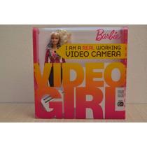 Muñeca Barbie Video Girl Camara De Video Integrada