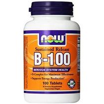 Now Foods Vitamina B-100 Tabletas