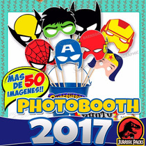 Photobooth Kit Imprimible Props Cartelitos Accesorios Fiesta