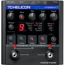 Tc Helicon Voicetone Create Xt Procesador De Voz.