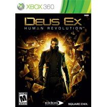 Xbox 360 - Deus Ex Human Revolution (mercado Pago Y Oxxo)