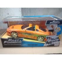 Toyota Supra O 1:24 Rapidos Y Furiosos Jada Toys.