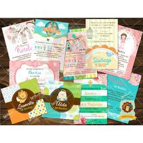 Invitaciones Bautizo, Baby Shower, Primera Comunión Impresas