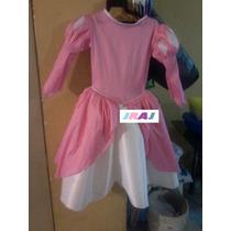 Disfraz De Sirenita Ariel Vestido Rosa
