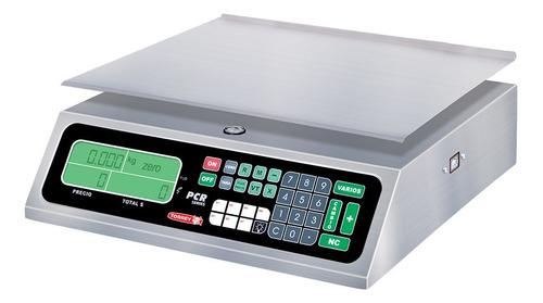 Báscula Comercial Digital Torrey Pcr 20 Kg 110v/220v Plateado