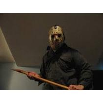 Mascara Jason Voorhees Viernes 13 Halloween Disfraz Terror