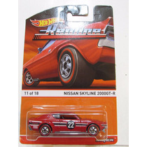 Hot Wheels - Nissan Skyline 2000gt-r Red Line