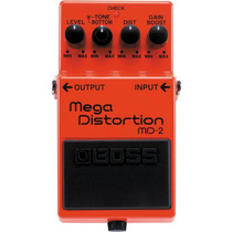 Boss Md-2 Pedal Mega Distortion Para Guitarra