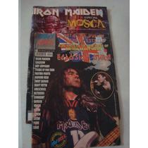 Lote De 2 Revistas Iron Maiden De Coleccion Mosca Heavyrock