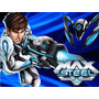 Kit Imprimible Max Steel Diseñá Tarjetas Cumple Y Mas 2x1