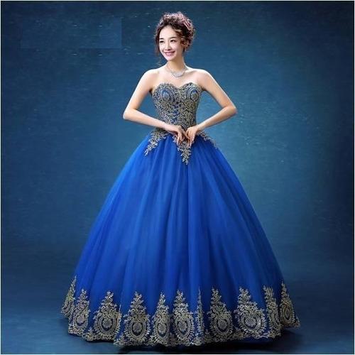fd9f643b73 Vestido De Xv Años 15 Quince Encajes Bordados Azul Rey en venta en Ciudad  Cuauhtémoc Ecatepec de Morelos Estado De México por sólo   6500