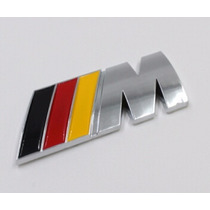 Emblema M Adherible Bmw M3 320 330 118 X3 X5 X6 Z3 Z4 Autos