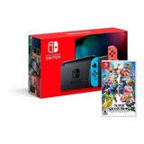 Nintendo Switch + Super Mash Bros Ultimate