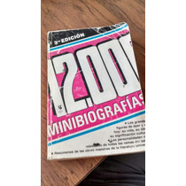 12000 Minibiografias 3ra Edición - Editorial América