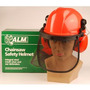 Casco De Seguridad - Alm Chainsaw Naranja Forestal
