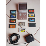 Game Boy Advance Sp + Juegos+ Cargador