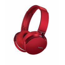 Audifonos Sony Mdrxb950bt/r Extra Bass Bluetooth- Rojo