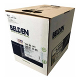 Cable Utp Belden Cat5e, Bobina 305m, 100% Cobre, Exterior