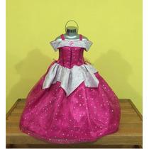 Vestido Disfraz Princesa Aurora, Bella Durmiente