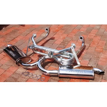 Kit Headers Vocho Full Injection Fat Boy Doble Miller Mofle
