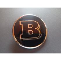 Emblema Brabus Mercedes Amg Cofre Logo Plano Estampa Slk Cls