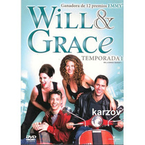 Will & Grace. Paquete Temporadas 1 , 2 , 3 , 4 Serie Tv Dvd