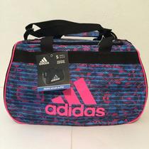 Maleta Deportiva Adidas Small Duffel Gym Viaje Oferta Rosa