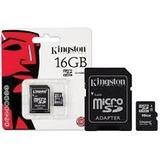 Memoria Micro Sd 16gb Kingston Cl4 Sdc4/16gb Factura!