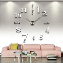 Nuevo Reloj De Pared 3d Moda Grande De Cuarzo Y Acrilico Ori