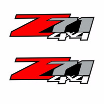 Sticker Autos - Calcomania - Vinil - Logo Z71 4x4