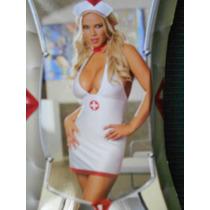 Disfraz De Enfermera Para Fiesta De Halloween Talla M Amyglo