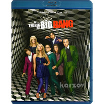 La Teoria Del Big Bang, Paquete Temporadas 1- 6 Blu-ray