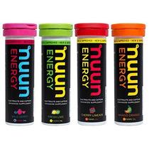 Nuevos Nuun Energía: Hidratantes Electrolitos Tabletas Mezcl
