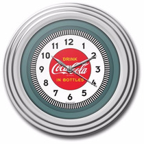 Reloj Pared Coca-cola Chrome Clock 12 Pulgadas