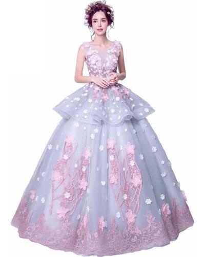 Vestido Xv Años Rosa Envió Gratis Q 026620 En Venta En San
