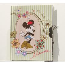 Disney Diario Minnie Mouse (nuevo Y Original) Importado