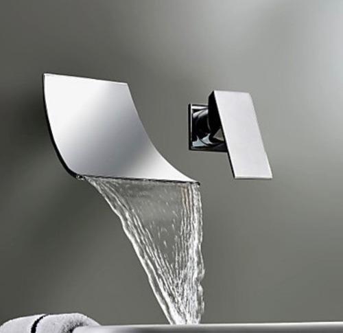 Llave monomando mezcladora grifo lavabo o tina pared for Llave mezcladora para lavabo precio