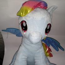 Excelente Peluche Mochila De My Little Pony (rainbow Dash)