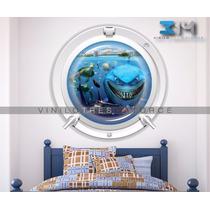 Vinilo Decorativo Nemo Dory Sticker Para Habitación Infantil