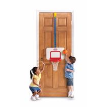 Canasta Basketball Tablero Niños Juego Puerta Interior