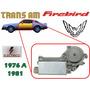 76-81 Pontiac Firebird Motor Electrico Elevador Izquierdo Pontiac Firebird