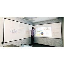 Pantalla Enrollable Pizarrón Proyector Elite Screens