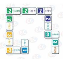 Edu-112 Dominó Multiplicación Negativos 28 Piezas 6+ Eduplas